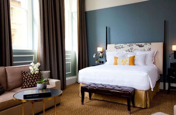 The Bedroom (image courtesy of Gainsborough Bath Spa)