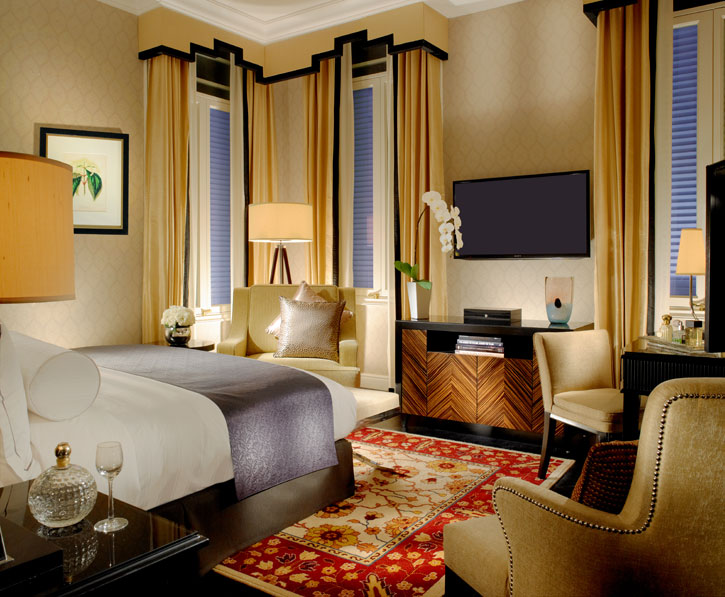 An Art décor inspired Suite at the Majestic Wing – Majestic Hotel Kuala Lumpur - Courtesy of YTL Hotels