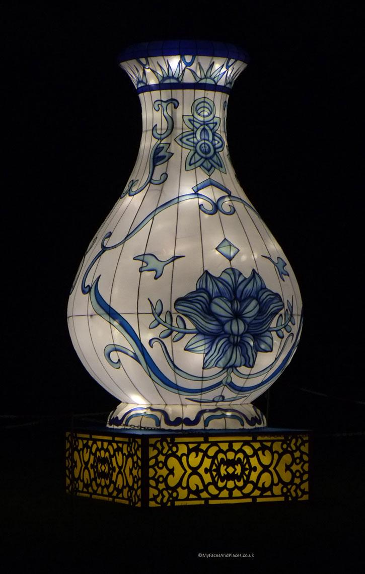 Magical Lantern Festival - A Chinese Vase Lantern
