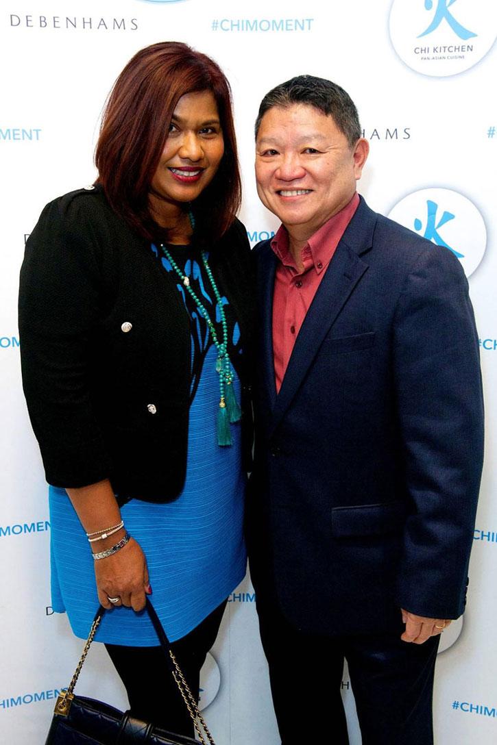 Joyce and Eddie Lim. Chi Kitchen is the brain child of Eddie Lim.