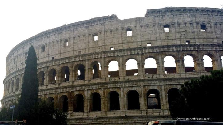 The Colusseum in Rome