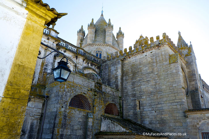 Evora Cathedral. Evora is the capital of Alentejo.