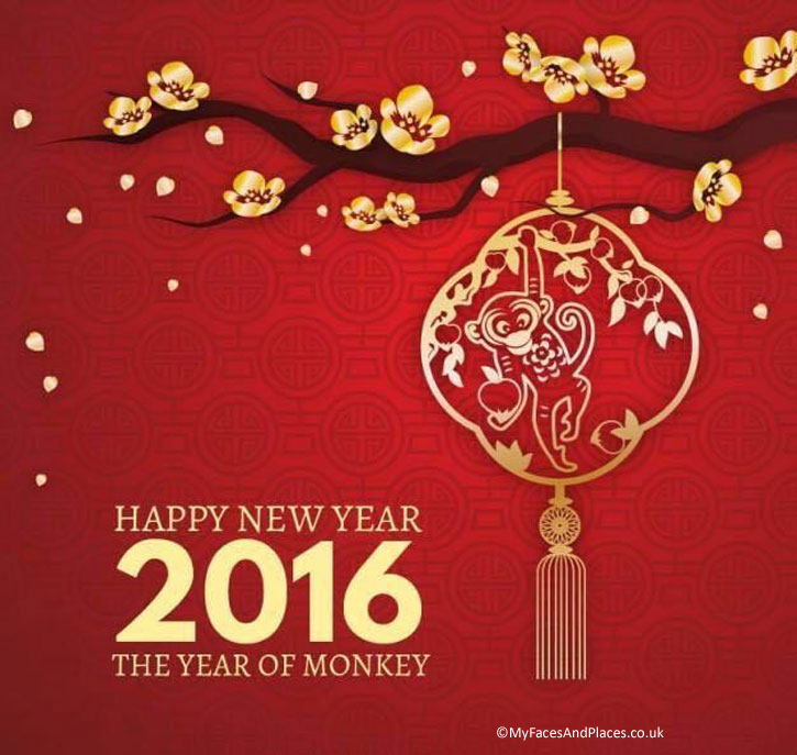 Chinese New Year Greetings Card