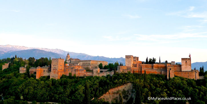 The splendour of the Alhambra in Granada.