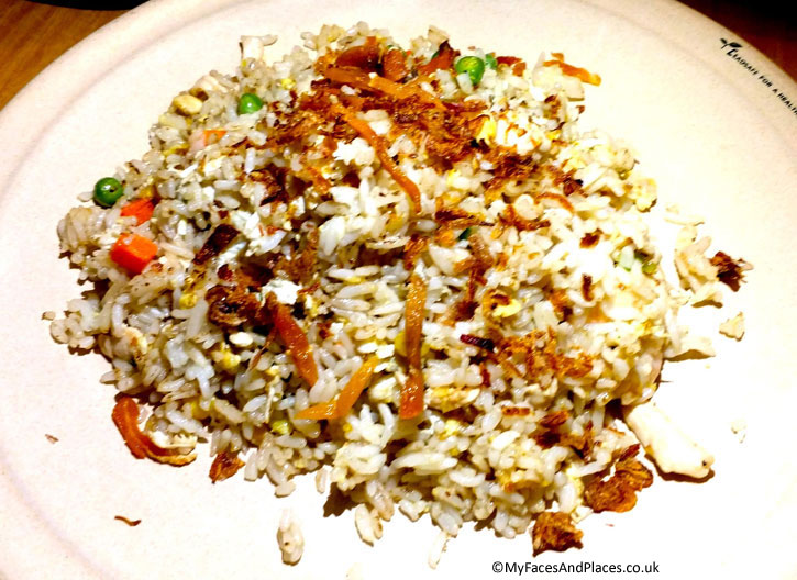 Hainanese Delights Restaurant - Fried Rice with Salted Fish