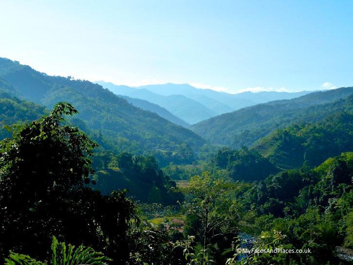 Stunning vista of the Kiulu Valley. Albert Teo - A Man With A Green Mission