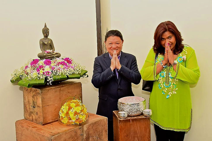 Eddie and Joyce Lim owners of Mango Tree - Ladyboys and Mango Tree Restaurant