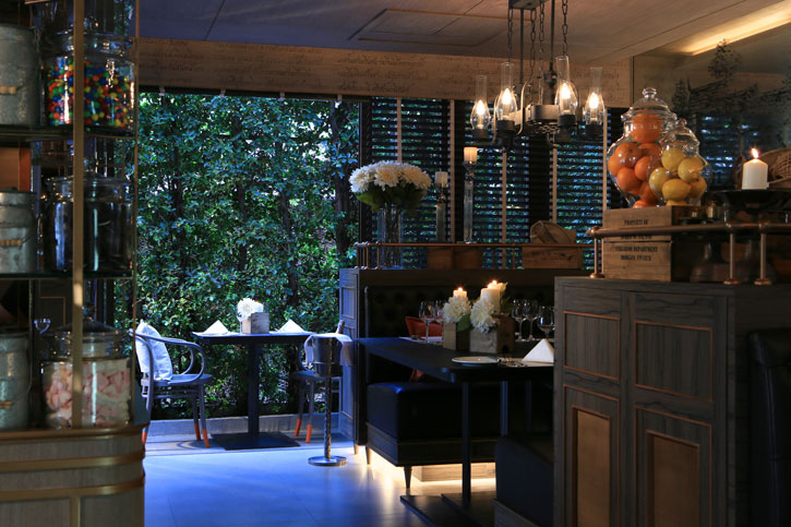 babble and rum's heritage-chic decor is inspired by Thai market place