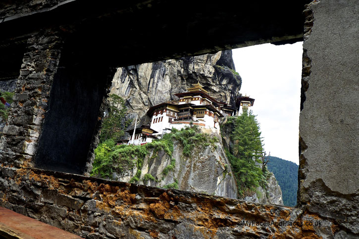 Tiger's Nest in Bhutan - Bhutan Tiger's Nest