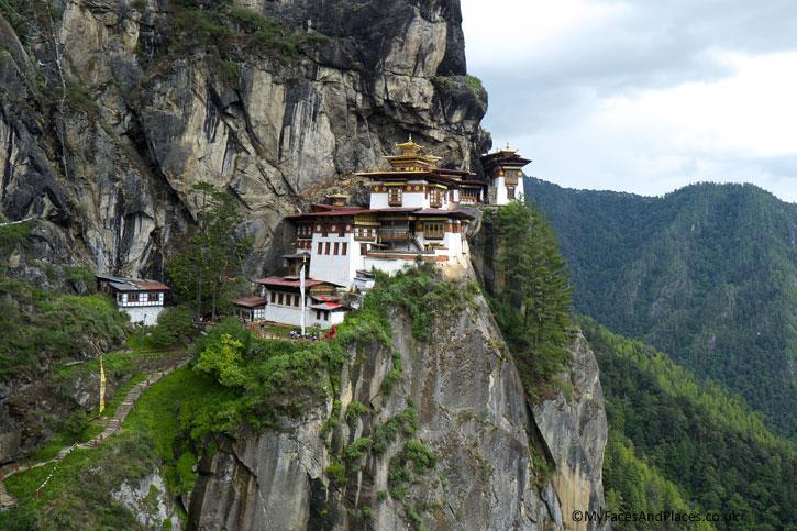 Tiger's Nest in Paro - Bhutan the Beautiful