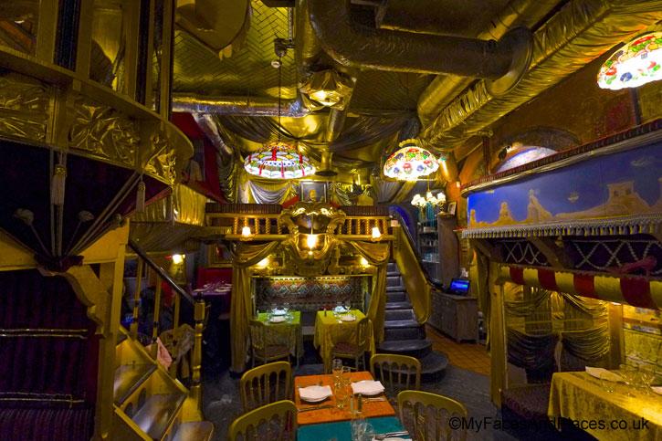 The fabulous interior of Sarastro