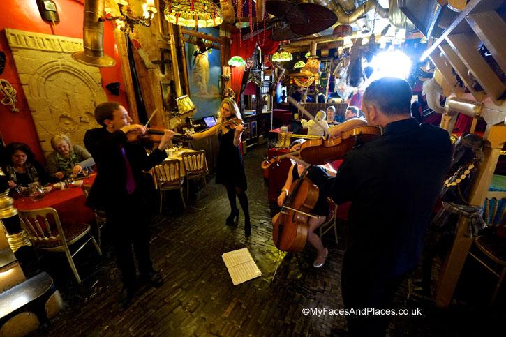 Showtime with the String Quartet - Sarastro Restaurant