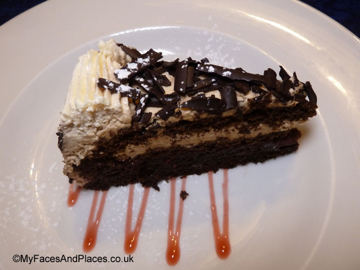 Black Forest Gateau - sarastro restaurant