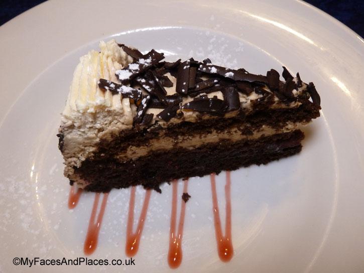 Black Forest Gateau - sarastro restaurant
