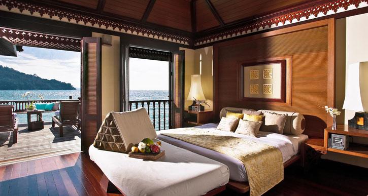 A fabulous Spa Villa room