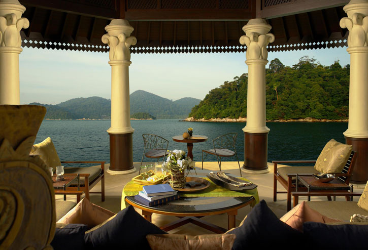 A villa with a fantastic view on the Estate (photo credit: YTL Hotels)