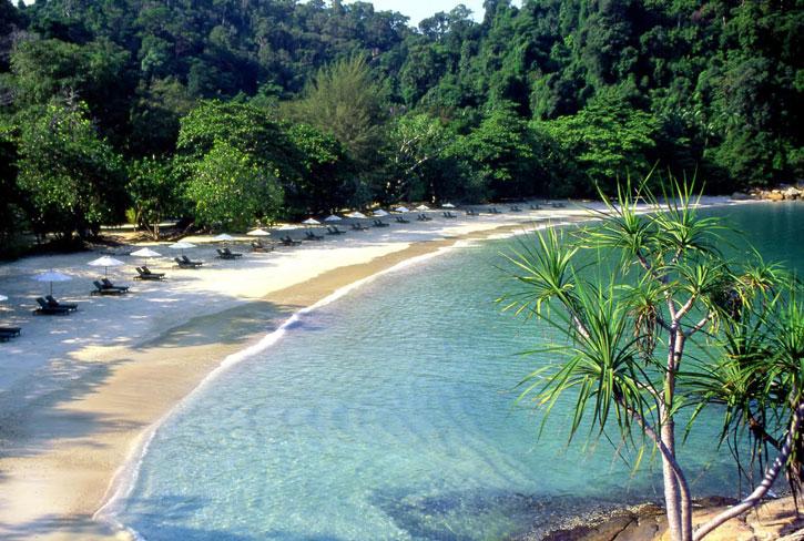 The idyllic Emerald Bay (photo credit: YTL Hotels)