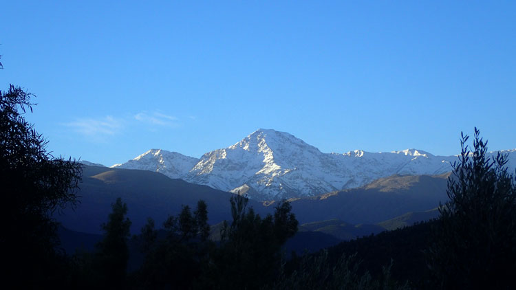 High Atlas Mountains in Morocco, North Africa
