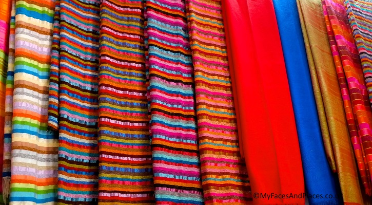 The vibrant colours of Morocco