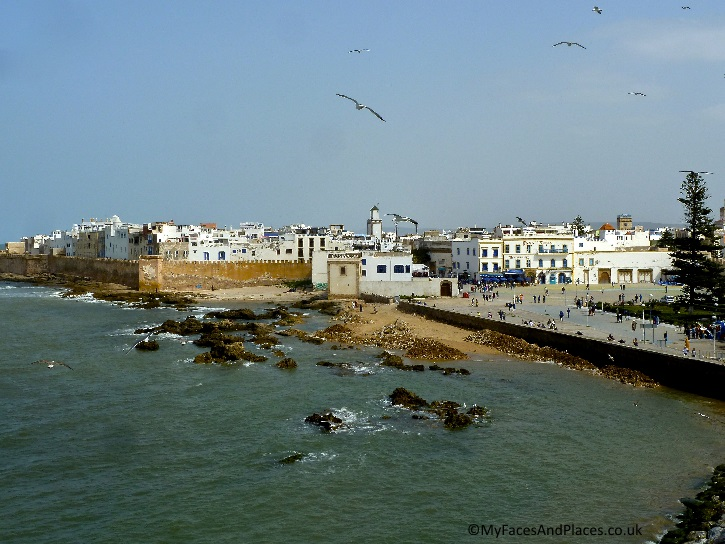 The ancient citadel town of Essaouira