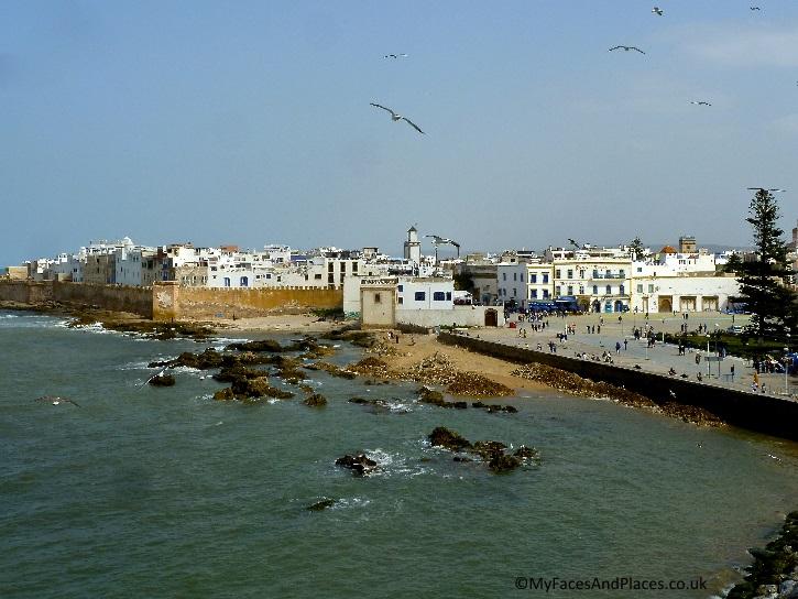 The ancient citadel town of Essaouira