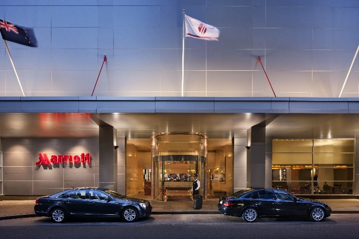 Melbourne Marriott Hotel in the heart of the city
