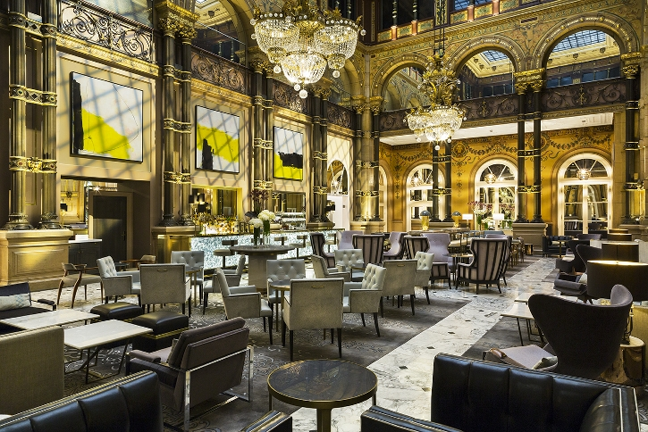 The splendid Le Grand Salon