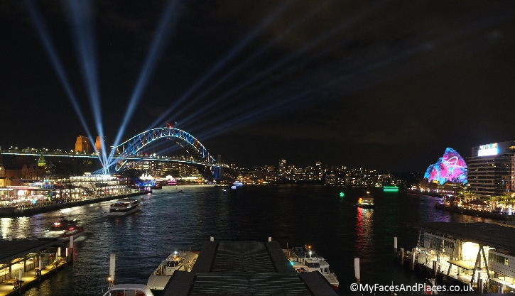 Sydney Stopover - The annual spectacular light festival of Vivid Sydney
