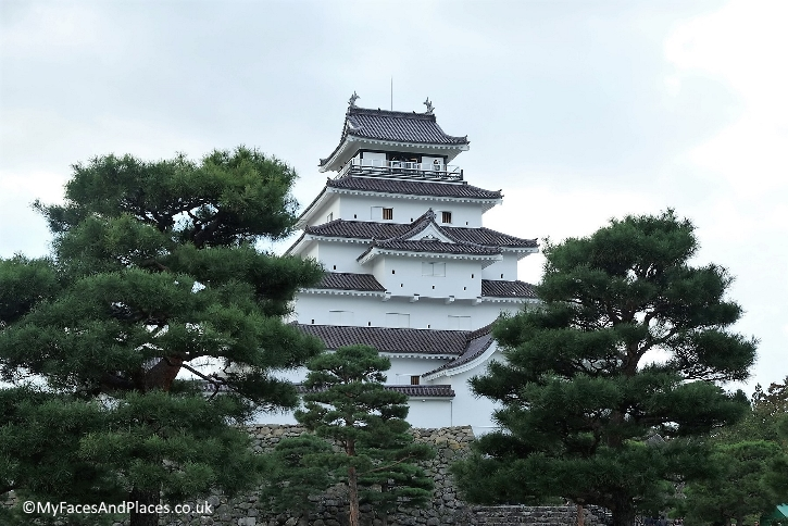 Tsuruga Castle also known as Aizu-wakamatsu Castle