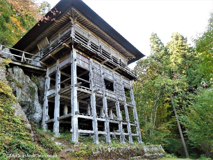 Sakudari Kannon Temple built in the year 830