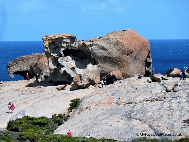 Remarkable Rock, a nature's sculpture on Kangaroo island