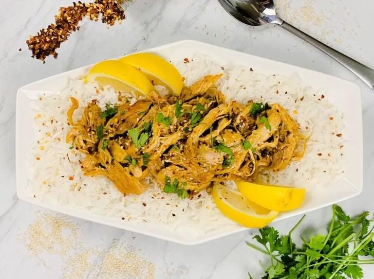 Tandoori Chicken Slow Cooker Freezer Meal