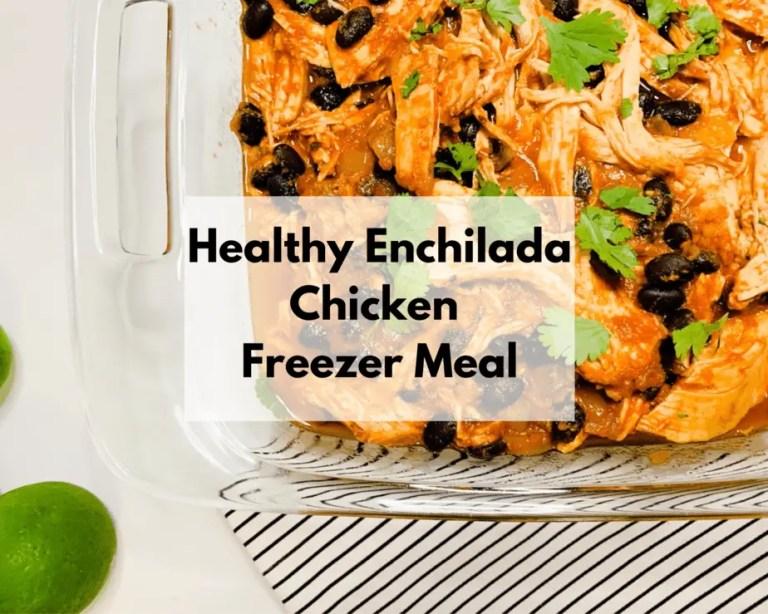 Slow Cooker Chicken Enchiladas Bowl
