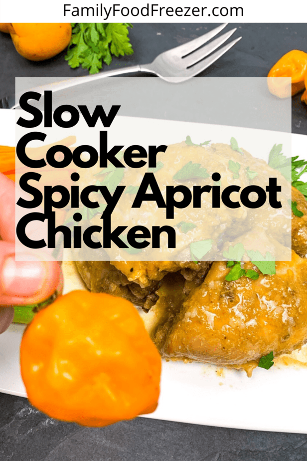 Spicy Apricot Chicken Freezer Meal