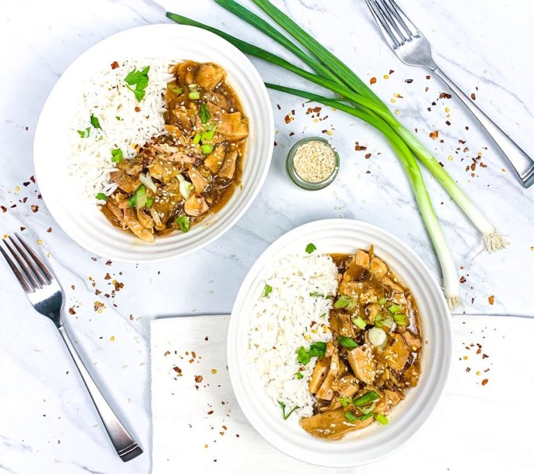 Skinny Teriyaki Chicken Bowl