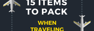 Carry on items to Pack with traveling with kids