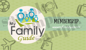 my family guide membership card