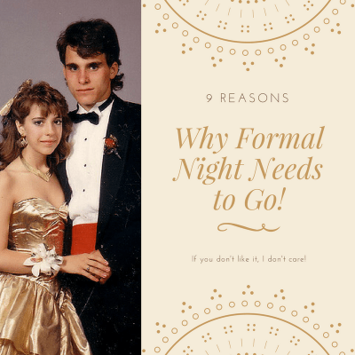 9 Reasons Why Formal Night Needs to Go on cruise ships