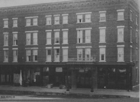 St James Hotel, Batavia, New York, ca. 1886