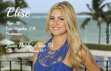 EDIT - Elise (Bachelor In Paradise)
