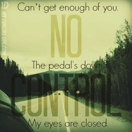 One Direction Four Lyrics - No Control 3