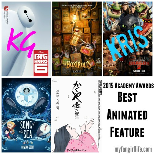 2015 Oscar Nominations Picks Best Animated Movie