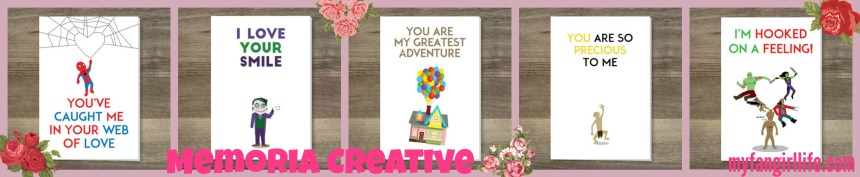 Valentines Geek Gift Guide Cards 2