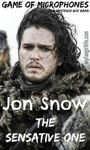 Game of Thrones Boy Band Jon Snow