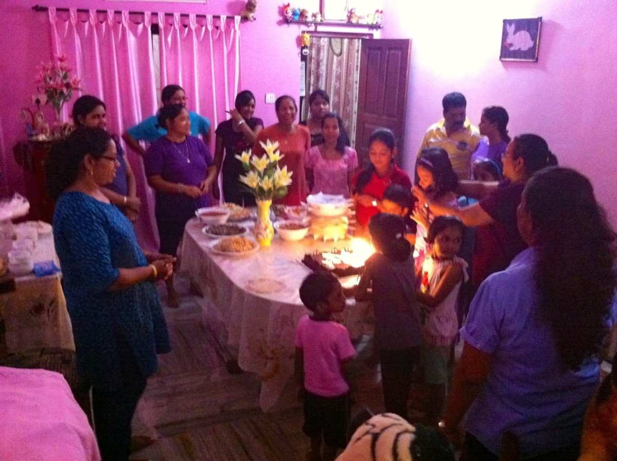 Birthday party in Goa