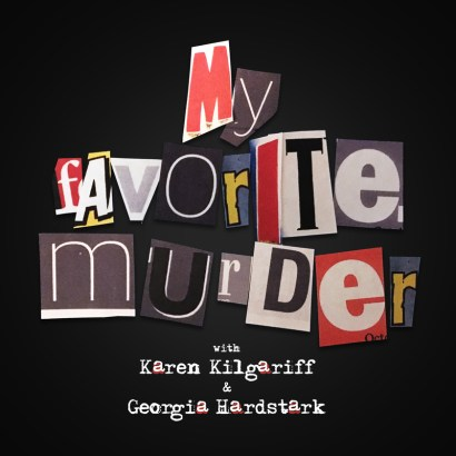 My Favorite Murder Podcast Logo