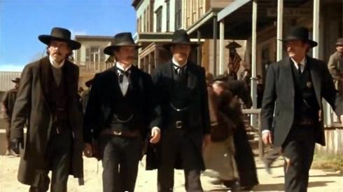 'Wyatt Earp': Dennis Quaid, Michael Madsen, Kevin Costner, Linden Ashby