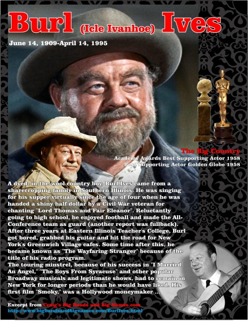 The BIg Country - Burl Ives