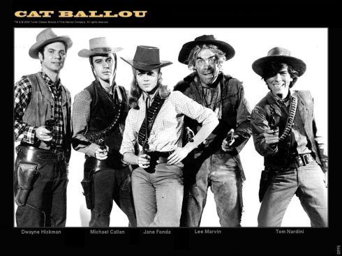 CAT BALLOU the whole gang ...