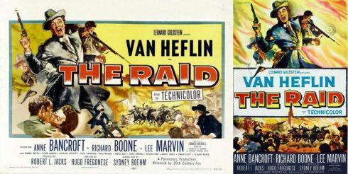 The Raid (1954) - Posters